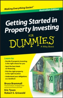 Getting Started in Property Investing for Dummies , Australian Edition, Paperback Book