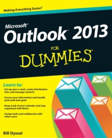 Outlook 2013 For Dummies, Paperback Book