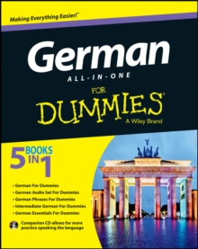 German All-In-One for Dummies with CD, Paperback Book