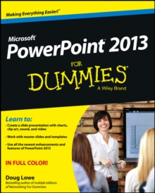 PowerPoint 2013 for Dummies, Paperback Book