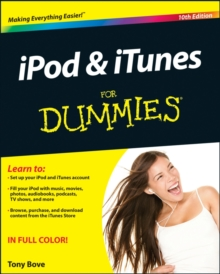 iPod & iTunes For Dummies, Paperback Book