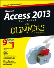 Access 2013 All-in-One For Dummies, Paperback Book