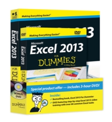 Excel 2013 for Dummies, Book + DVD Bundle, Paperback Book