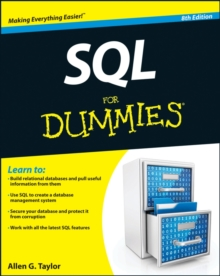 SQL for Dummies, 8th Edition, Paperback Book