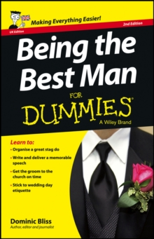 Being the Best Man For Dummies, Paperback Book