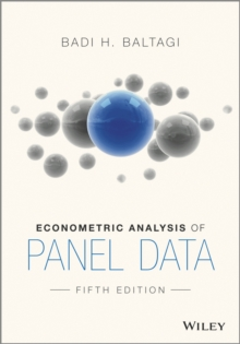 Econometric Analysis of Panel Data, Paperback Book
