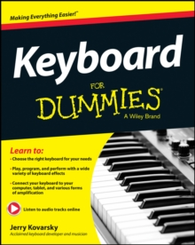 Keyboard for Dummies, Paperback Book