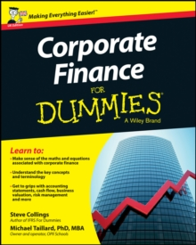 Corporate Finance For Dummies, Paperback Book
