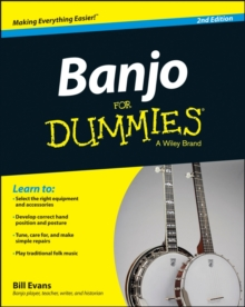 Banjo For Dummies : Book + Online Video and Audio Instruction, Paperback Book