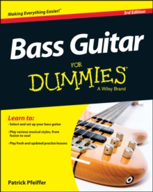 Bass Guitar For Dummies, Paperback Book