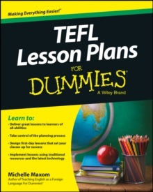 TEFL Lesson Plans For Dummies, Paperback Book