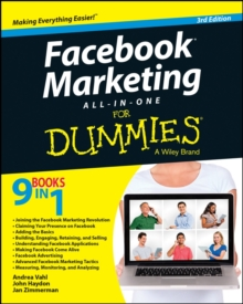 Facebook Marketing All-in-One For Dummies, Paperback Book