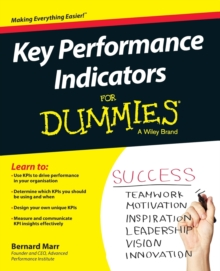 Key Performance Indicators For Dummies, Paperback Book