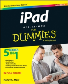 Ipad All-In-One for Dummies, 7th Edition, Paperback Book
