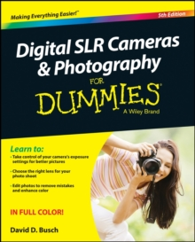 Digital SLR Cameras & Photography for Dummies, 5th Edition, Paperback Book