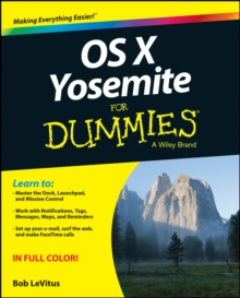 OS X Yosemite for Dummies, Paperback Book