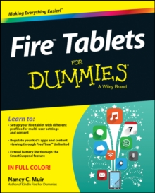 Fire Tablets For Dummies, Paperback Book