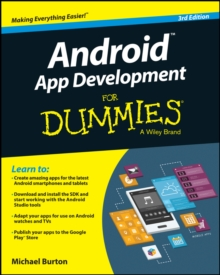 Android App Development for Dummies, 3rd Edition, Paperback Book