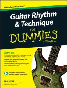 Guitar Rhythm & Technique For Dummies, Mixed media product Book