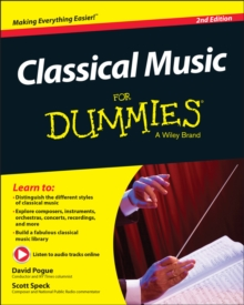 Classical Music For Dummies, Paperback Book