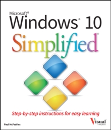 Windows 10 Simplified, Paperback Book