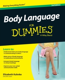 Body Language For Dummies, Paperback Book