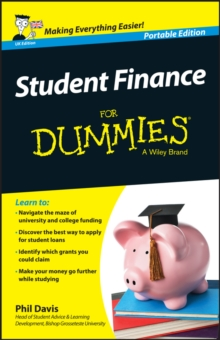 Student Finance For Dummies, Paperback Book
