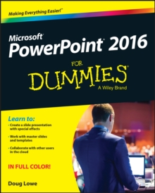 PowerPoint 2016 for Dummies, Paperback Book