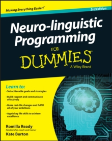 Neuro-Linguistic Programming For Dummies, Paperback Book