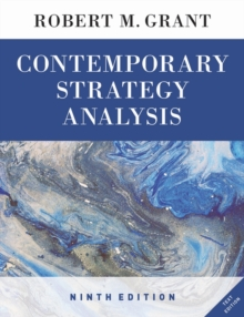 Contemporary Strategy Analysis 9E Text Only, Paperback Book