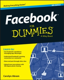 Facebook for Dummies, 6th Edition, Paperback Book