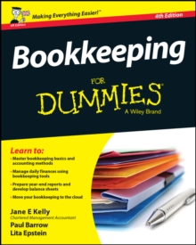 Bookkeeping for Dummies 4th UK Edition, Paperback Book