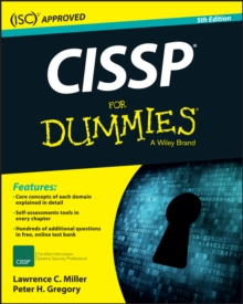 CISSP For Dummies, Paperback Book