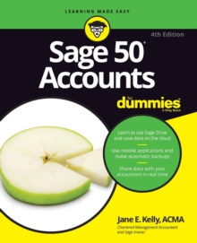 Sage 50 Accounts For Dummies, Paperback Book