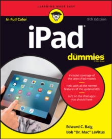 Ipad for Dummies, 9th Edition, Paperback Book