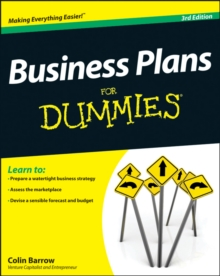 Business Plans For Dummies, Paperback Book