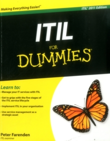 ITIL For Dummies, Paperback Book
