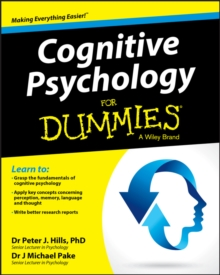 Cognitive Psychology for Dummies, Paperback Book
