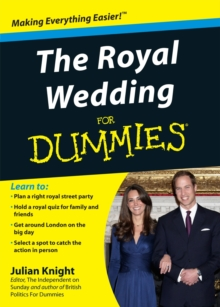 The Royal Wedding For Dummies, Paperback Book