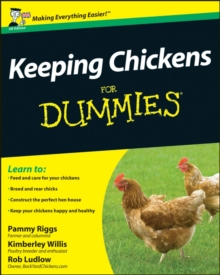 Keeping Chickens For Dummies, Paperback Book