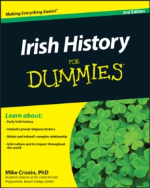 Irish History for Dummies 2E, Paperback Book
