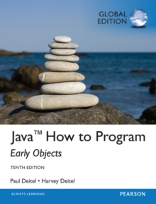 Java How To Program (early objects): Global Edition, Mixed media product Book