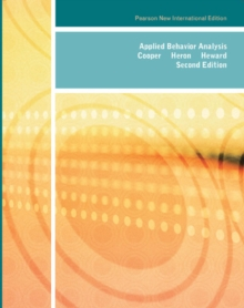 Applied Behavior Analysis, Paperback Book