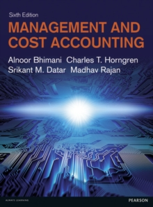 Management and Cost Accounting, Paperback Book