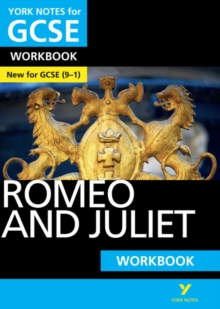 Romeo and Juliet: York Notes for GCSE Workbook : Grades 9-1, Paperback Book