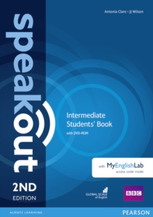 Speakout Intermediate  Students' Book with DVD-ROM and MyEnglishLab Access Code Pack, Mixed media product Book