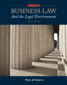 Essentials of Business Law and the Legal Environment, Hardback Book