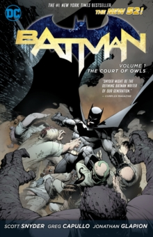 Batman Volume 1: The Court of Owls TP (The New 52), Paperback Book