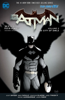 Batman Volume 2: The City of Owls HC (The New 52), Paperback Book