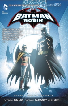 Batman & Robin Volume 3: Death of the Family HC (The New 52), Hardback Book